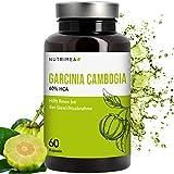 Garcinia Cambogia Kapseln Extrakt Extra Pur 60% HCA hochdosiert - Natürlicher Fatburner & Appetitzügler - 100% vegan - abnehmen schnell und simpel