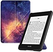 Fintie Origami Case for All-New Kindle Paperwhite (10th Generation, 2018 Release) - Slim Fit Stand Cover Suppo