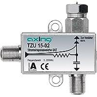 Axing TZU 15-02 Indoor Silver power adapter/inverter - Power Adapters & Inverters (1 A, Indoor, Satellite multiswitch, Silver, 53 mm, 16 mm) prezzi su tvhomecinemaprezzi.eu