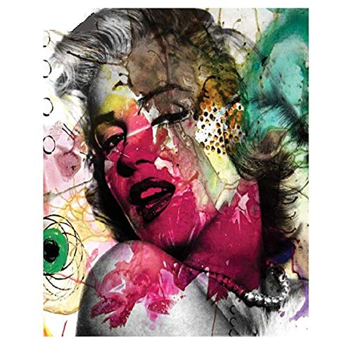DIY Diamond Painting Kits for Kids Adults,5D Full Drill Diamond Painting Marilyn Monroe,Crystal Rhinestone Embroidery Pictures Arts Craft for Home Wall Decor,11.8×15.7in (Monroe Marilyn Picture Frames)