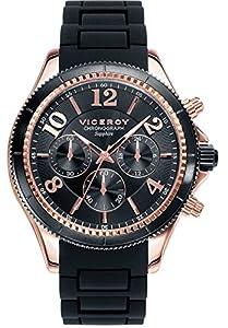 Viceroy Reloj Multiesfera para Hombre de Cuarzo con Correa en Silicona 47893-95 de Viceroy