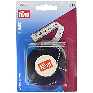 Prym 300 cm/ 120-inch cm/inch Spring Tape Measure Jumbo
