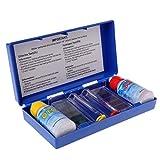 qiman PH CLORO acqua qualità Test Kit Piscina Acquario accessori Tester