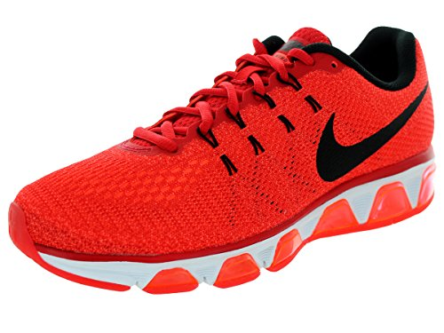 Nike Downshifter 6, Herren Sportschuhe, Rot - Unvrsty Red/Blck/Hypr Orng/Wht - Größe: 42 EU
