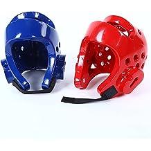 Casco de Boxeo para niños para Taekwondo Judo Martial Arts Sparring Casco Gear Head Protector,
