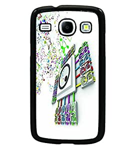 PRINTSWAG MUSIC Designer Back Cover Case for SAMSUNG GALAXY CORE i8262