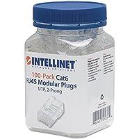 Intellinet 502344 - Conector de cable Ethernet (100 unidades)