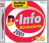 Produkt-Bild: D-Info Rückwärts 2005