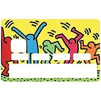 Sticker adesivo per carte di credito, motivo: keith