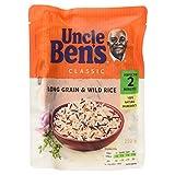 Uncle Ben's Classic Long Grain & Wild Rice Microwaveable Rice, 250g