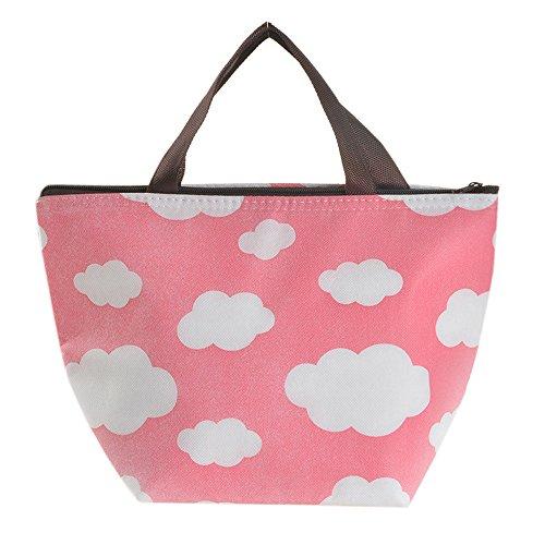 KonJin Lunch Taschen Wiederverwendbare Lunchtasche Kühltasche Wasserdicht Isoliert Lunch Box Mittagessen-Einkaufstasche
