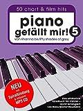 Piano gefällt mir! 50 Chart und Film Hits - Band 5 mit MP3 CD. Von Rihanna bis 50 Shades Of Grey. Das ultimative Spielbuch für Klavier - arrangiert von Hans-Günter Heumann (Spiralbindung) - Hans-Günter Heumann