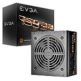 EVGA 750 B3, 80+ BRONZE 750W, Fully Modular, EVGA ECO Mode, 5 ans Garantie, Compact...