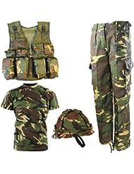 Kombat UK de l'Armée DPM No1Combo pour enfants