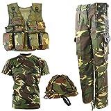 Kombat UK de l'Armée DPM No1Combo pour enfants 9-10 ans camouflage