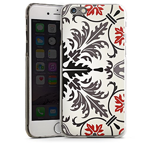 Apple iPhone 4 Housse Étui Silicone Coque Protection Motif Motif Abstrait CasDur transparent