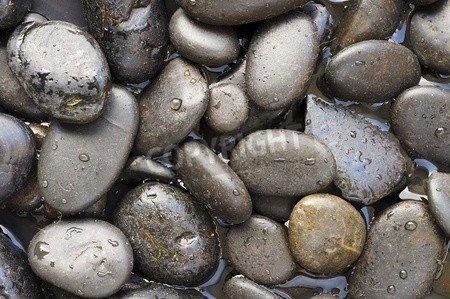 """Poster-Bild 80 x 50 cm: """"Black Stone Background """", Bild auf Poster"""