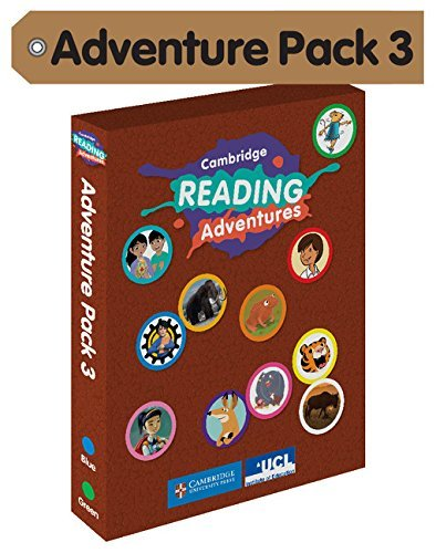 Cambridge Reading Adventures Blue and Green Bands Adventure Pack 3 with Parents Guide by Sibel Sagner (2016-01-21)