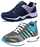 #10: Maddy Combo Pack of 2 Sport Shoes for Men in Various Sizes