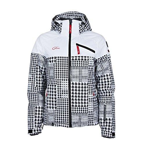 093e6e59a3 Five Seasons Women s Lotten Arctic Zone Ski Snow Jacket White UK 10