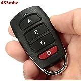 AUDEW Mando de garaje remote 433Mhz puerta cochera control