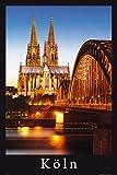 empireposter - Deutsche Städte - Köln - Strahlender Dom -