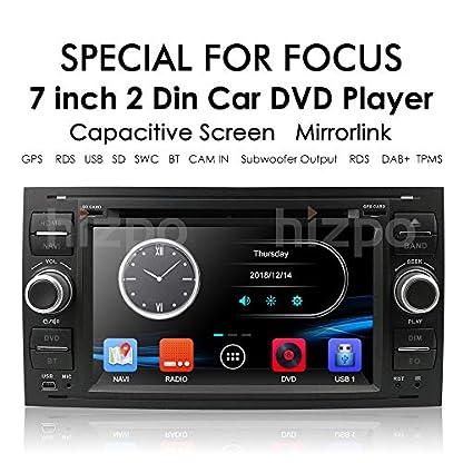 Black-7-Zoll-2-Din-Autoradio-Moniceiver-DVD-GPS-Bluetooth-Navigation-fr-Ford-C-MaxConnectFiestaFocusFusionGalaxyKuga-S-MaxTransitMondeo-Schwarz