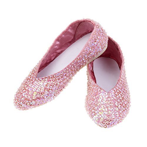 Rose & Romeo - 11020 - Accessoire Pour Déguisement - Chaussures - Lilly - Rose - Taille 28