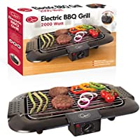 Quest 35910 Indoor Electric Smoke Free Portable BBQ Barbecue Grill, 2000 W