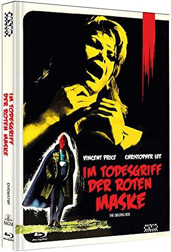 Preisvergleich Produktbild Im Todesgriff der roten Maske - The Oblong Box [Blu-Ray+DVD] - uncut - auf 111 Stück limitiertes Mediabook Cover F
