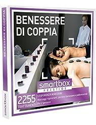 SMARTBOX - Cofanetto Regalo - BENESSERE DI COPPIA - 2255 trattamenti rigeneranti: massaggi, accessi alla spa o rituali relax…