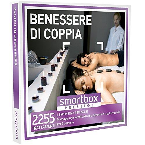 Smartbox - benessere di coppia - 2255 trattamenti wellness, cofanetto regalo, benessere