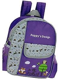 Preisvergleich für Kinderrucksack FOREST 441 Kinder Rucksack mit Brustgurt und Adressfach Farben: rosa , lila oder blau 25 cm