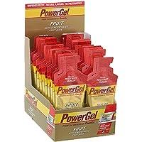 Power Gel Fruit mit Kohlenhydraten, Maltodextrin & Natrium – Energie Gels – Vegan – Trinkbar ohne Wasser – Red Fruit Punch 24 x 41 g