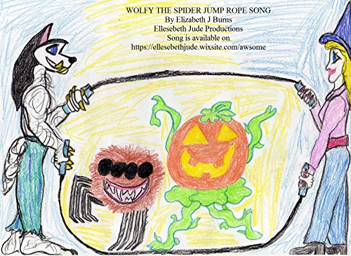Wolfy the Spider Jump Rope Song. (English Edition) (Halloween Spider Jump)