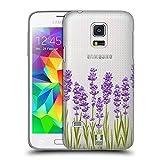 Head Case Designs Lavendel Rosen Und Wildblumen Ruckseite Hülle für Samsung Galaxy S5 Mini