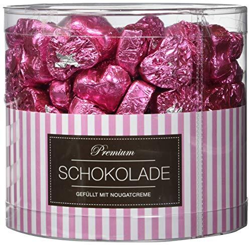 Günthart 150 rosa Schokoladen Herzen Miami