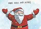 Postkarte A6 • 29340 ''Hugs and kisses'' von Inkognito • Künstler: Henrike Wilson • Weihnachten