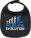 EZYshirt Maler Evolution Baby Lätzchen Halstuch