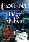 Escape game de poche - Piégé à Arkham par Trenti