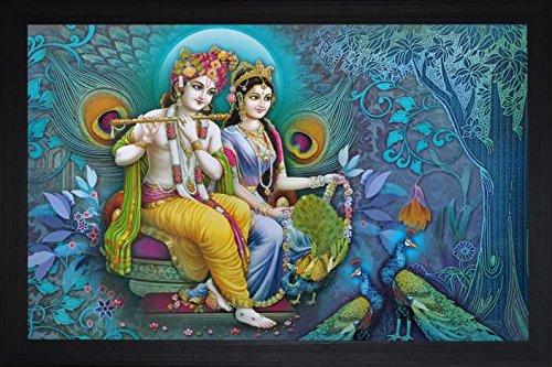PAF Radha krishna painting||Krishna Painting|| Radha krishna painting||Krishna poster|| Krishna wall stickers ||PAF Pooja Art