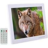 Galleria fotografica Andoer 12 Frame HD Photo Foto Cornice Digitale 800 * 600 MP4 MP3 Movie Player E-book Orologio Calendario +Telecomando...