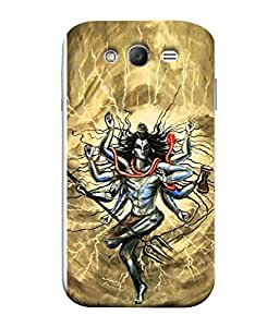 PrintVisa Designer Back Case Cover for Samsung Galaxy Grand (Rudra avatar of shiva shankar)