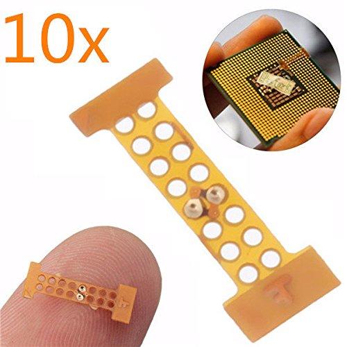 Philmat 10pcs LGA 771A 775Mod adaptador adhesivo