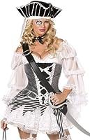 Pirate 5 Piece Fancy Dress Costume Ladies (Sexy)