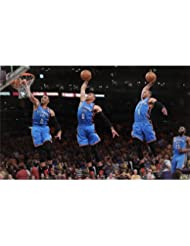 Russell Westbrook Poster On Silk <58cm x 35cm, 23inch x 14inch> - Cartel de Seda - 0CF0E6