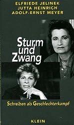 Sturm und Zwang: Schreiben als Geschlechterkampf (German Edition)