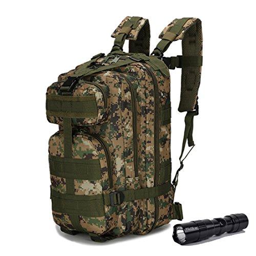 Qmfive zaino tattico militare 30l, diversi colori escursionismo ciclismo outdoor tattico militare zaino trekking borsa per viaggio