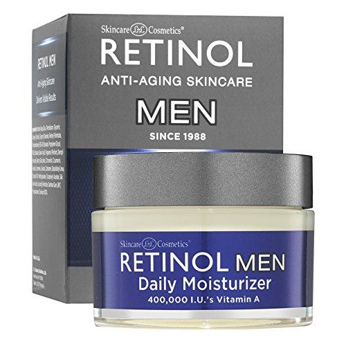 Retinol Men's Daily Moisturizer - Die Original Retinol Feuchtigkeitscreme für die Haut eines Mannes - Man Make-up Wie