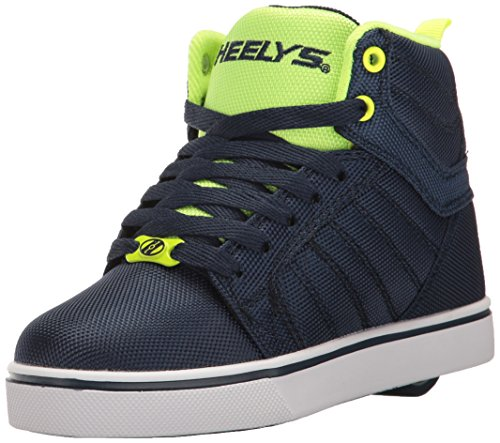Heelys Jungen Uptown High-Top, Blau (Navy/Yellow Ballistic), 34 EU